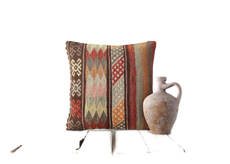 kilim rug moroccan pillow kilim pillow 16x16 mudcloth pillow kilim pillow home decor kilim pillow cover turkish pillow boho pillow