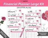 graphic about Printable Budget Binder named Fiscal Planner Inserts, Fiscal Printables, Funds Planner Printable, Spending plan Binder, Finance Planner, Finance Binder, A5/A4/US Letter