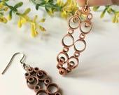 Circle bar earrings, Stat...