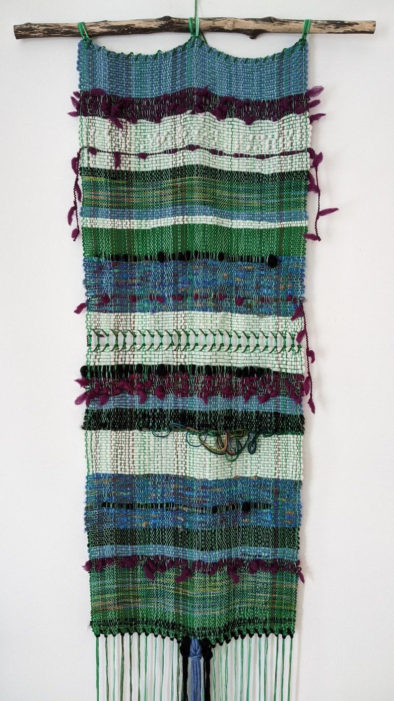 Kaleidoscope / Woven wall hanging / Abstract / Textile art / image 0