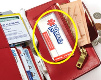 Medical Alert ID Card / Wallet ICE (In Case of Emergency) Card