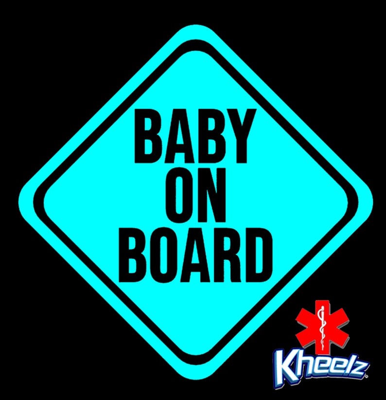 New Mom Gift Custom Baby Shower Gift Custom New Dad Gift Baby on Board Sign Decal Baby on Board Sticker Baby on Board car Decal