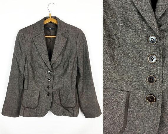Woolen Jacket Size M. Wool Brown Jacket Spring Jac