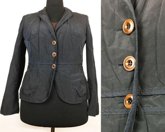 Black Jacket Stylish Jacket Sise L, Elegant Jacket