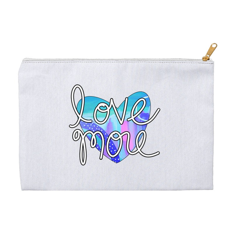 Love More Accessory Pouch Fitness Inspired