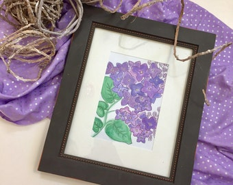 Handmade Lilacs Digital File