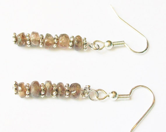 Andalusite Stone Earrings