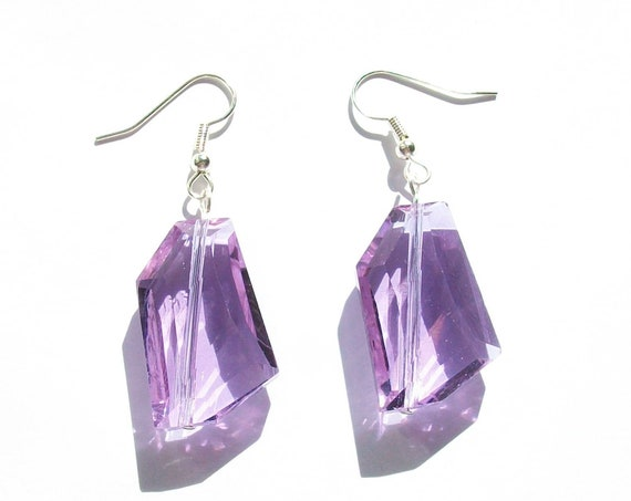 Lavender Purple Earrings