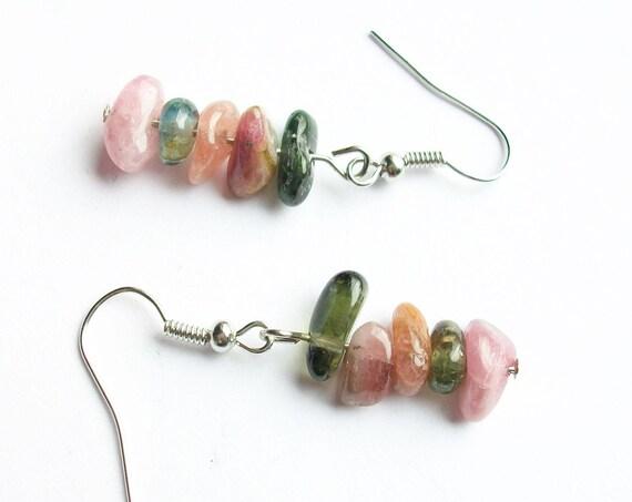 Tourmaline Stone Earrings
