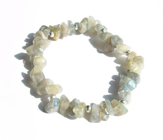Labradorite Stretch Bracelet