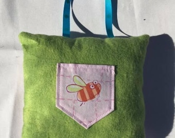 Bumble Bee Tooth Fairy Pillow