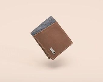 Compact Bi-Fold - Brown