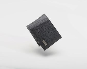 Large Bi-Fold - Black