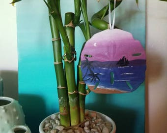 No evening quite like this sand dollar ornament