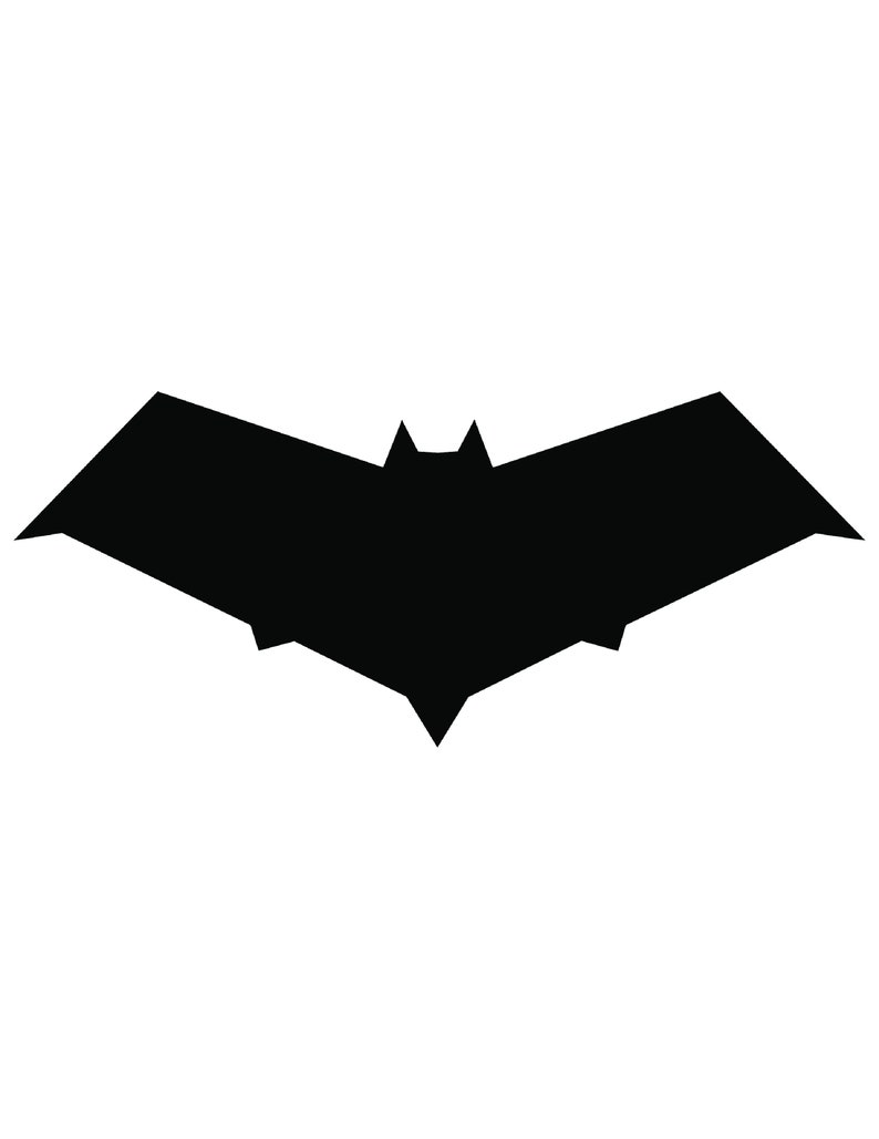 Redhood Symbol Window Decal 1 inch Logo Vinyl Decal Batman Sticker Comic book Sticker Batman Decal Car Decal 3 inch 5 inch