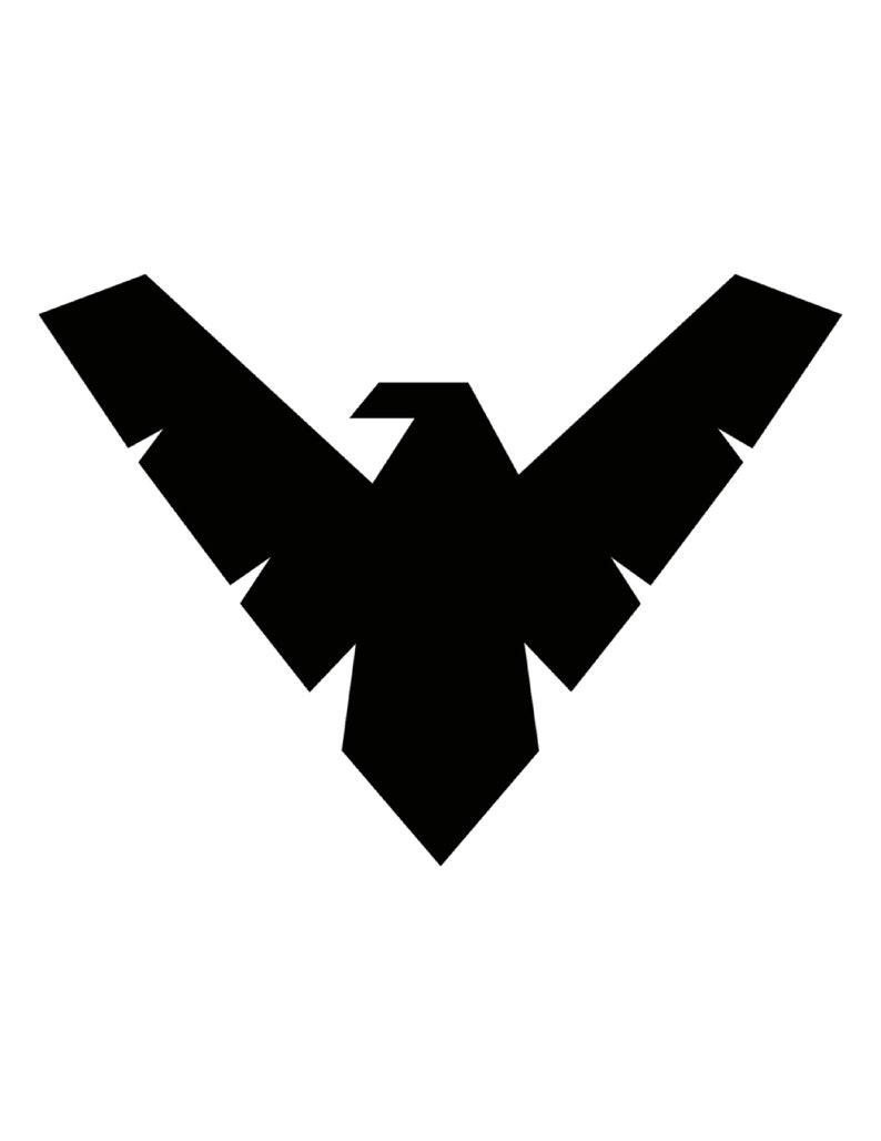 Image 0: Nightwing Symbol Wedding Rings At Reisefeber.org