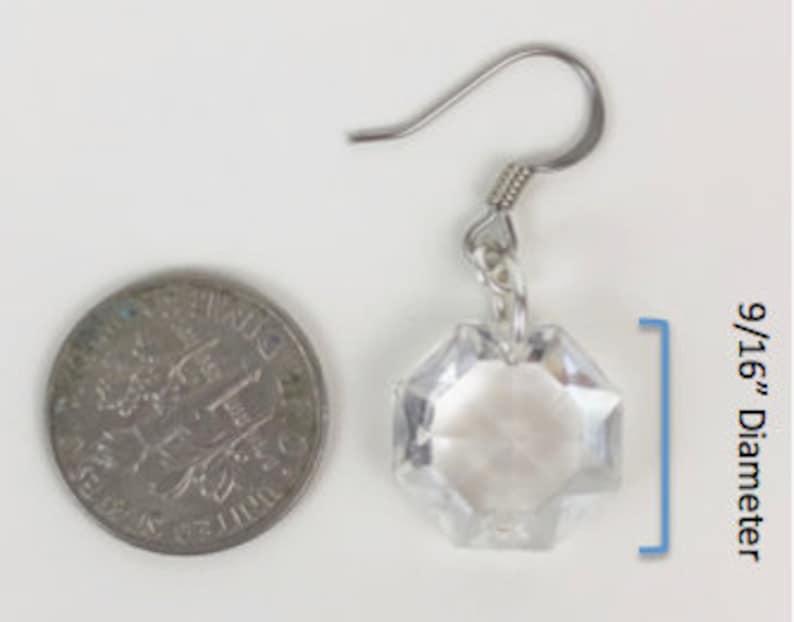 Copper Chandelier Crystal Bridal Earrings Wedding Jewelry Bridesmaid Gifts Vintage Earrings Repurposed Earrings Birthday