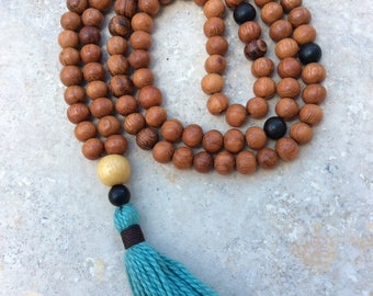 108 mala bead necklace