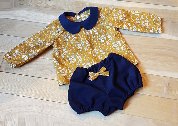 Bloomer LIBERTY to choose Mauvey blue denim Capel mustard birth 1361218 months to 23 years