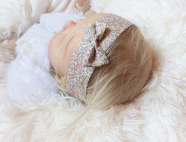 Liberty Katie and millie Nude baby headband