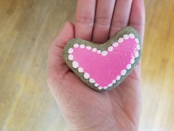 Best Friend Present Pink Heart Fused Glass Decoration Mothers Day Gift Love Anniversary Gift For Her Home Decor Pink Floral Heart