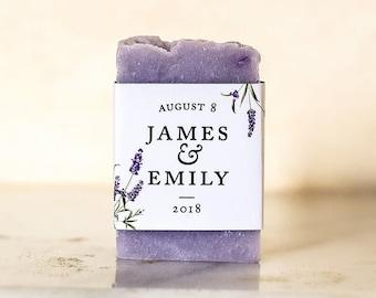 Lavender soap Baby shower lavender soap favors bridal shower favors wedding favors guest soap shower favors purple soap favor guest gift