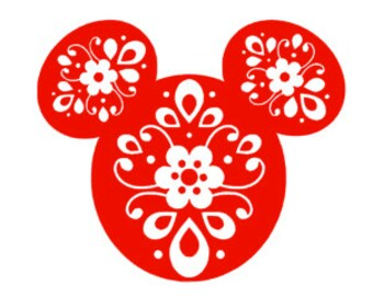 BOHEMIAN MICKEY; Quality Vinyl Decal, Disney Decal, Disney Yeti Decal, Disney Car Decal, Gifts for Disney addicts, Fast Processing!!