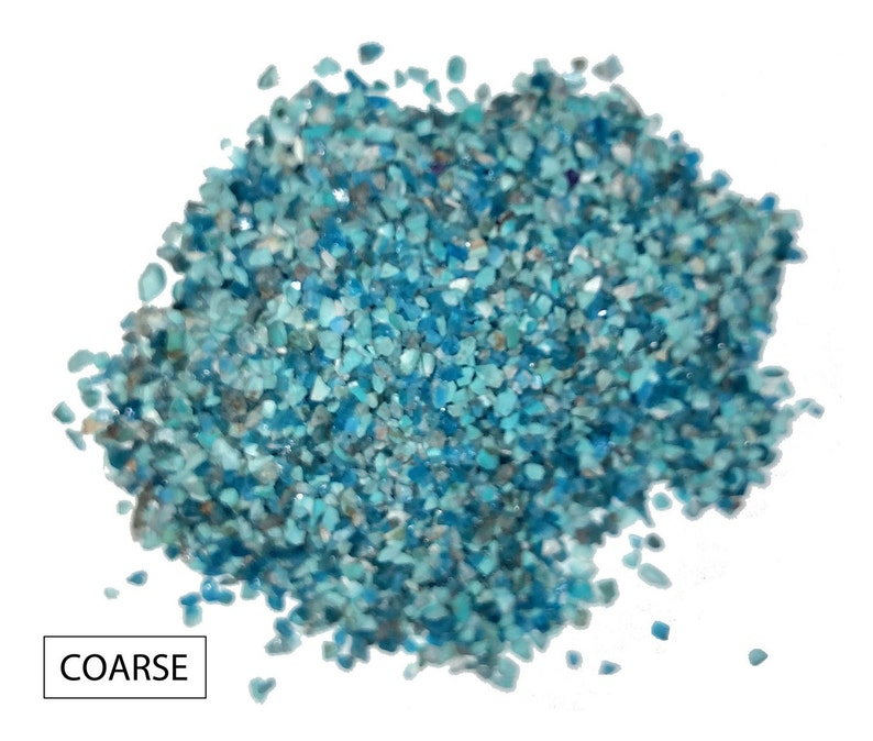 Crushed Turquoise/Chrysocolla Blend for Inlays Woodworking image 0