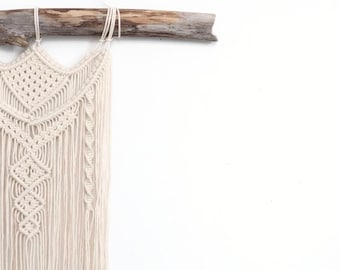 Macrame Wall hanging home decor - Modern macrame boho decor Wall art