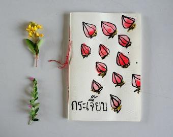 Roselle handmade Notebook
