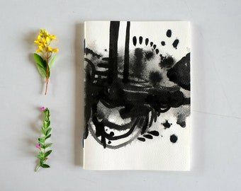 Black & White handmade Notebook
