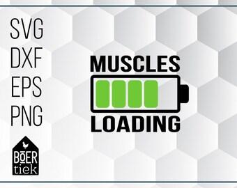 4dd4426b Muscles loading, cutting file, sport, gym