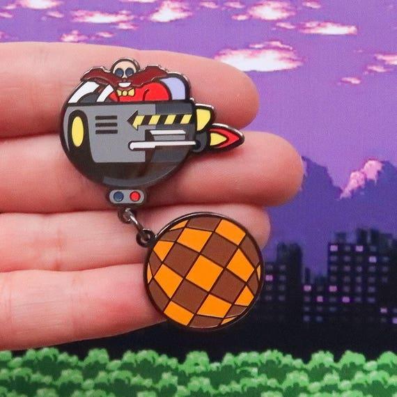Dr Robotnik Swinging Wrecking Ball Sonic The Hedgehog Hard Etsy