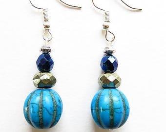 Earring hooks earrings 17606