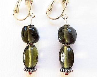 Earring clip earring 17667