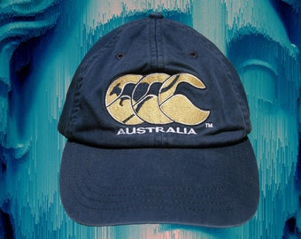Vintage Canterbury Sports Cap - New Zealand - Australia - 90s - OSFA