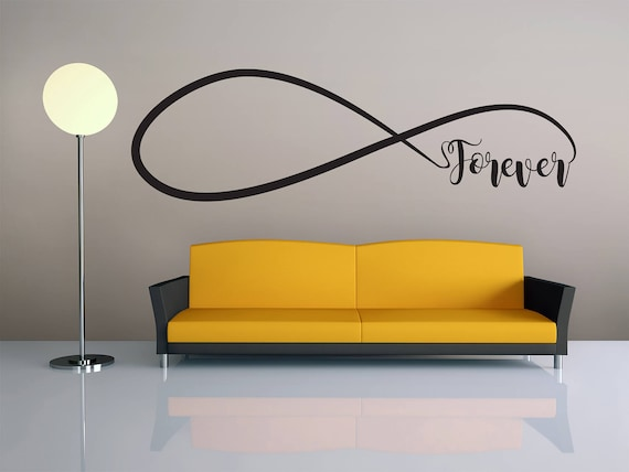 & Wall Art Wall Decor Forever Love Infinity Wall Decal Home