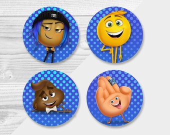 Emoji Movie Cupcake Toppers