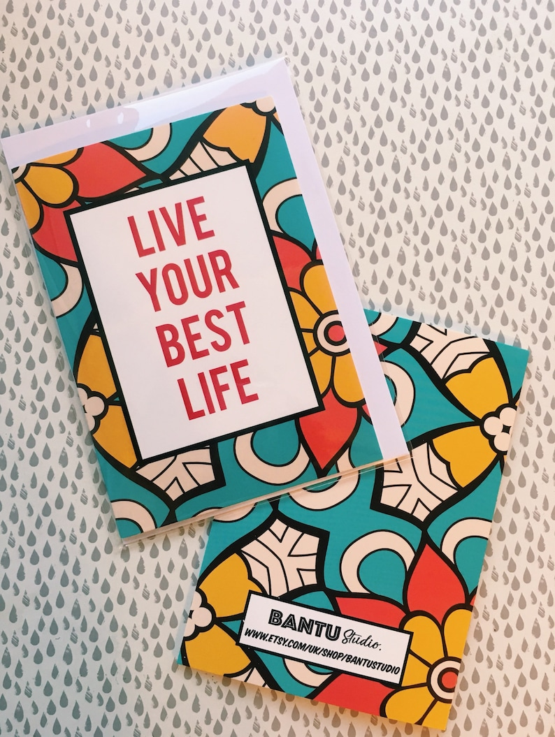 Live Your Best Life Friendship Cards Greeting