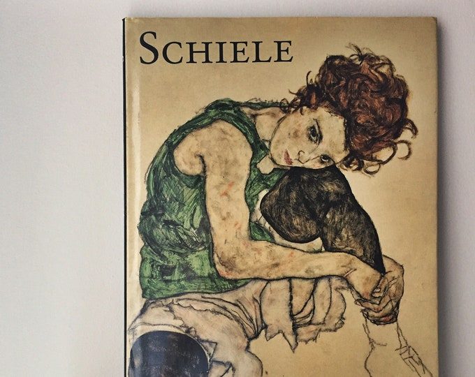 vintage expressionist egon schiele art book
