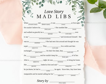 photograph regarding Mad Lib Printable referred to as Crazy libs Etsy