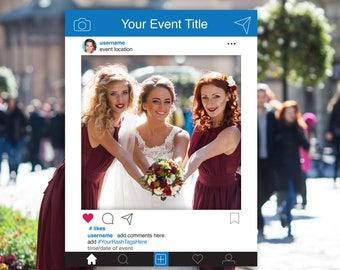 Instagram Frame Template Etsy