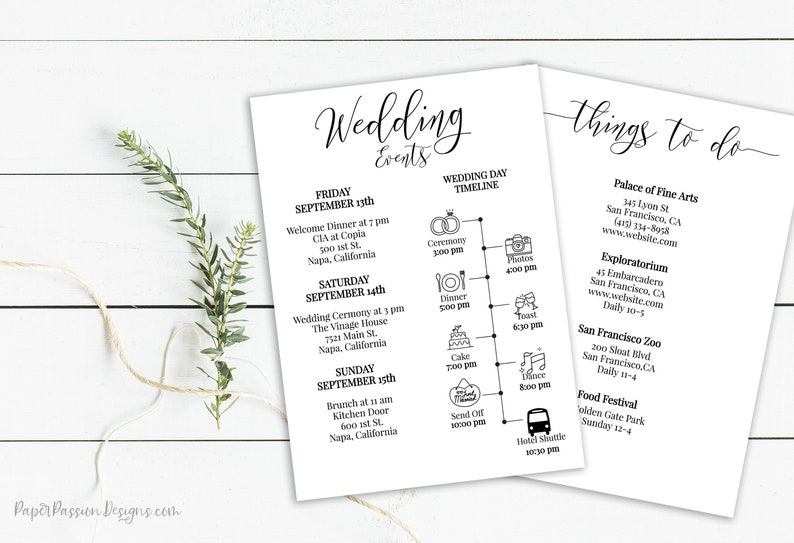 Wedding Event Icon Timeline & Things to Do Schedule image 0