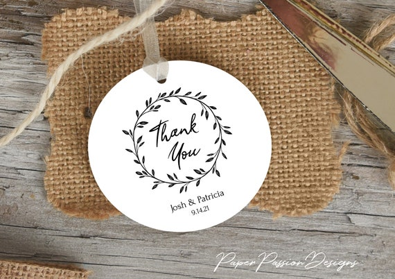 Rustic Favor Tag Template, Bridal Gift Tag Printable, 100% Editable Text, Wedding Instant Download, Templett, DIY PPW0330