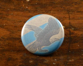 "Ravenclaw eagle - Harry Potter inspired 2.25"" pinback button/badge or magnet"