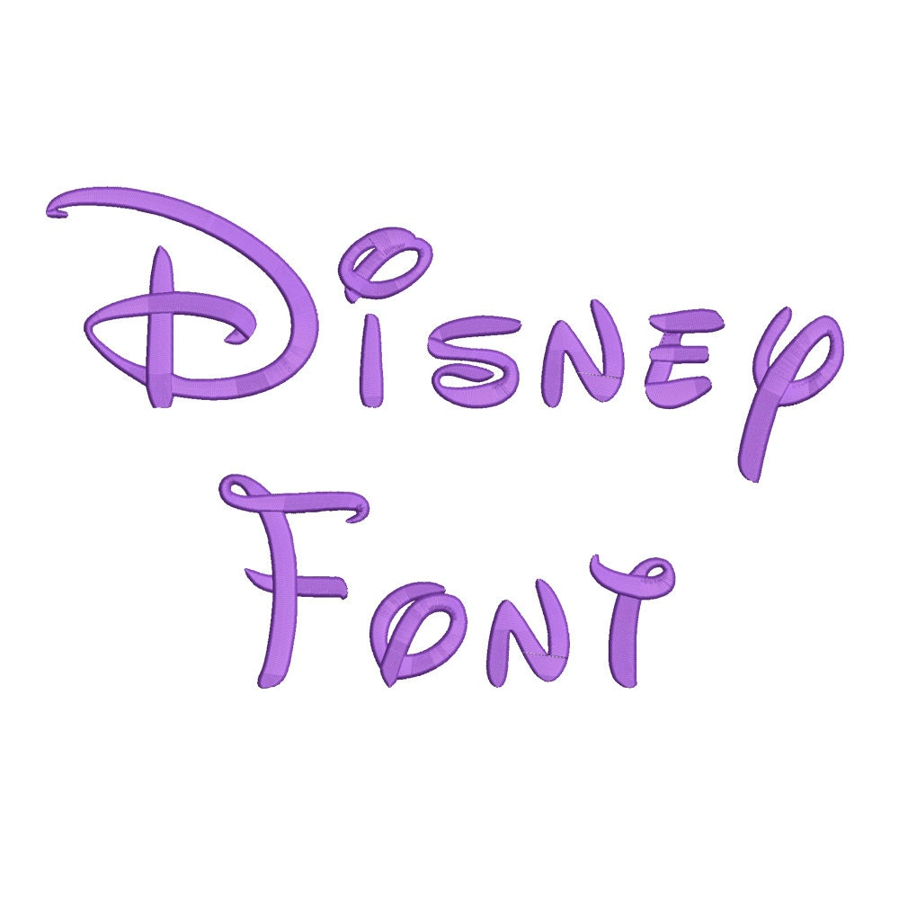 Disney Font I Love You – Daily Motivational Quotes