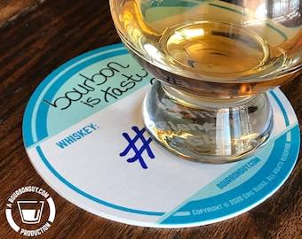 COASTERS  |  Bourbon Whiskey Tasting Coasters