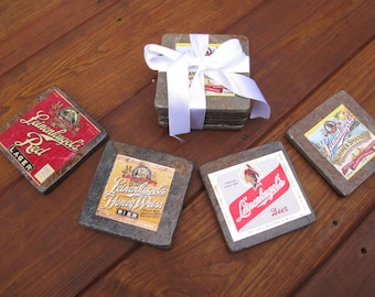 Leinenkugel's Natural Stone Coasters
