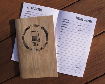 Bourbon Whiskey Tasting Journal