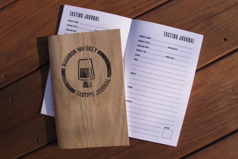Bourbon Whiskey Tasting Journal image 0